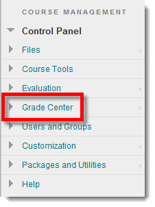 download a roster from blackboard s grade center