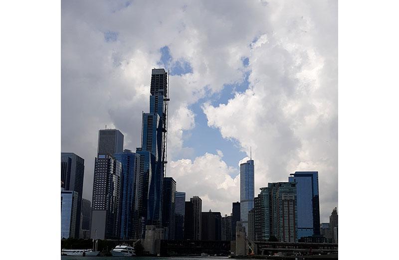 Skycraper photo in Chicago