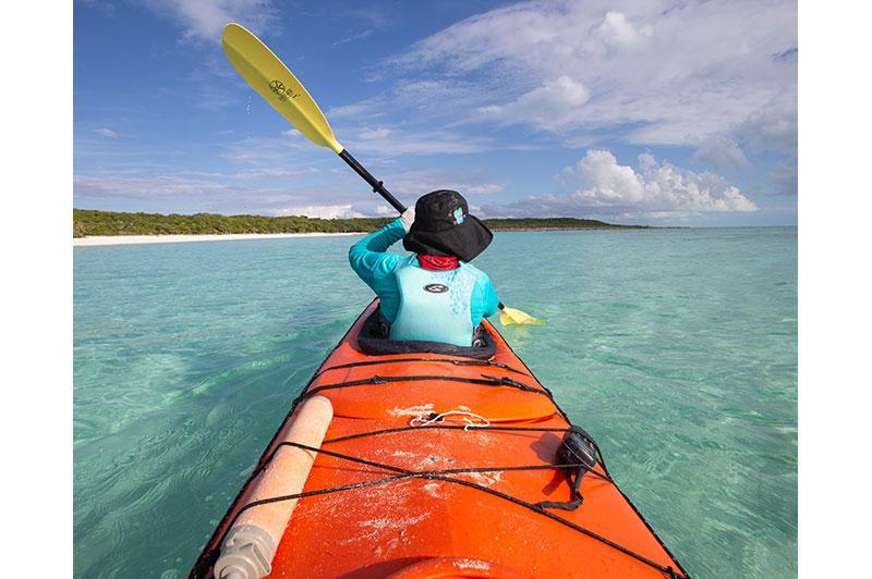 Photo of woman in kayak