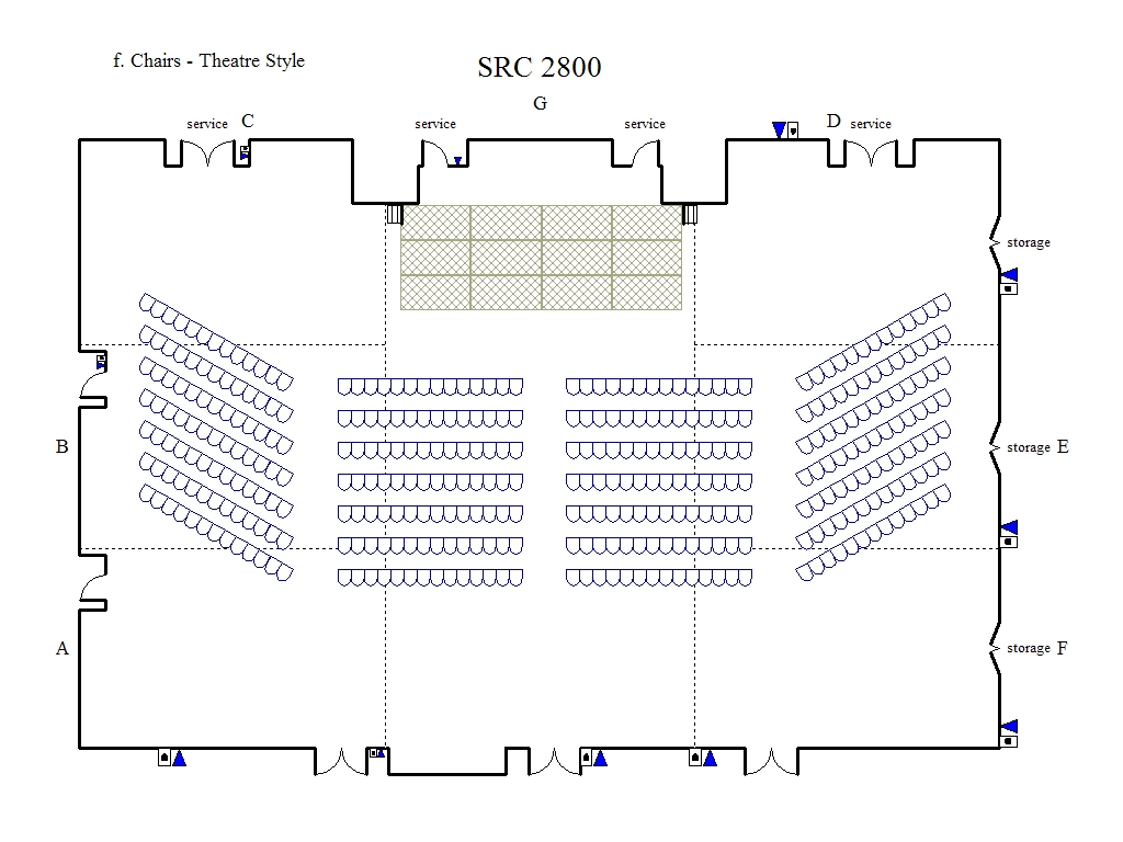 banquet seating diagram